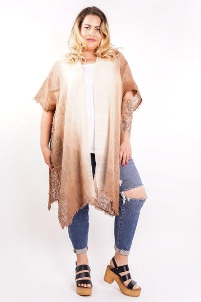 Open Fields Cotton Gauze Kimono, 3 Colors!