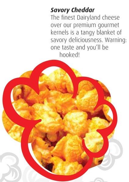 Savory Cheddar Kettle Corn