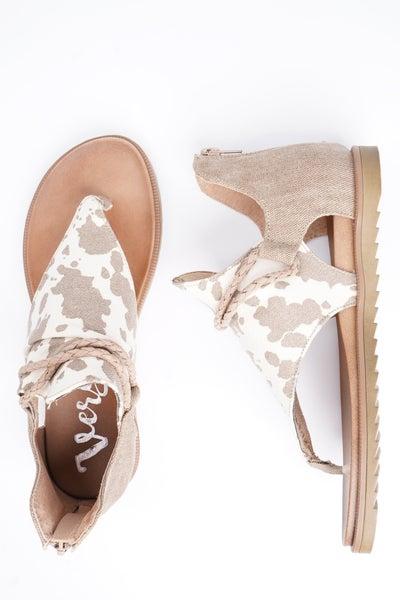 Angelika Animal Pattern Sandals, 3 Colors!