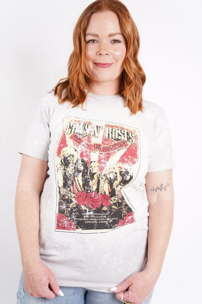 Guns N' Roses Graphic Band Tee
