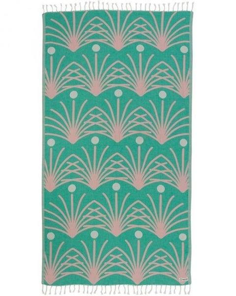 Retro Palm Towel