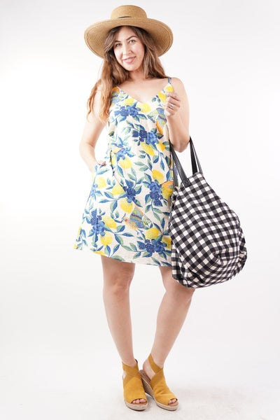On Holiday Floral Tank Dress