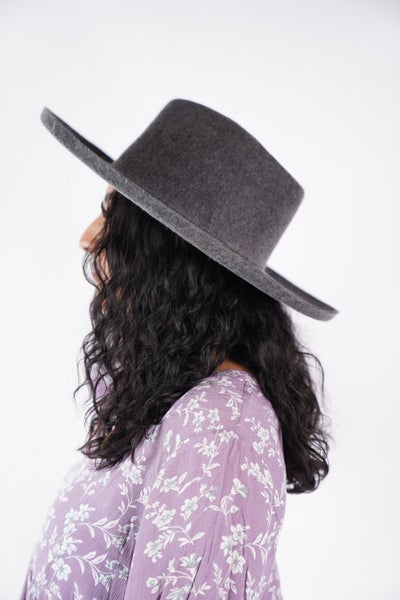 Lenny- Wool Felt Panama Hat