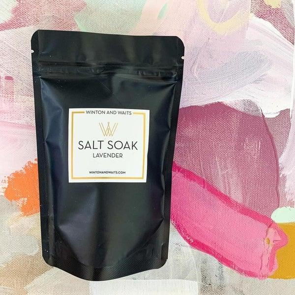 Lavender Salt Soak