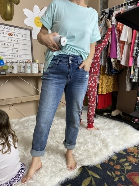 Judy Blue Double Waistband Relaxed Fit