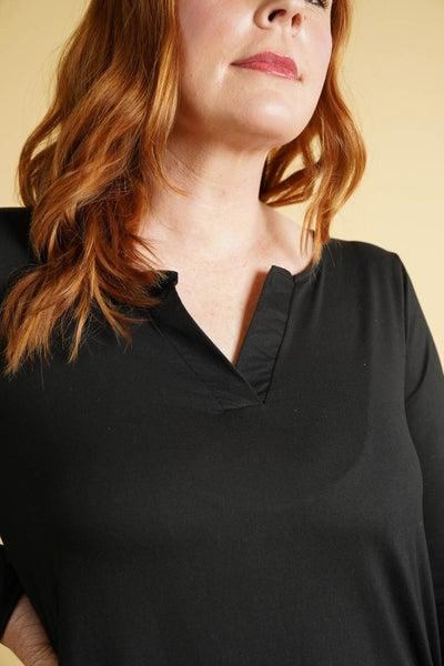 Softest Classic V Neck Long Sleeve, 3 Colors!