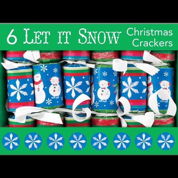 "Let It Snow 6"" Mini Cracker"