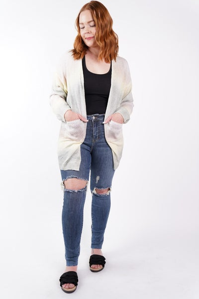 For The Weekend Pastel Ombre Cardi