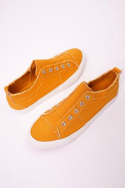 Corkys Mustard Bandana Babalu Sneakers