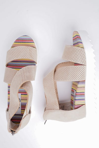 Allie Wedge Sandals, 2 Colors!