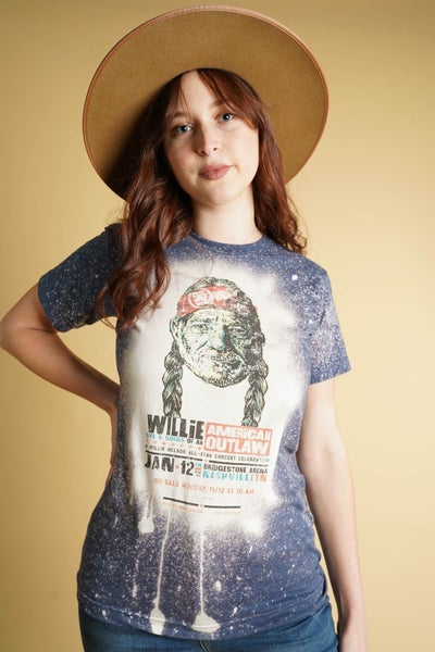 Willie Nelson Graphic Band Tee