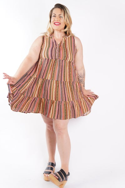 Keeping It Cool Tiered Sundress, 3 Colors!