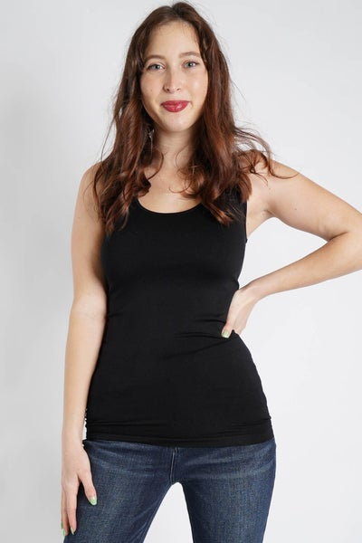 Seamless Scoop Neck Tank Top from Zenana