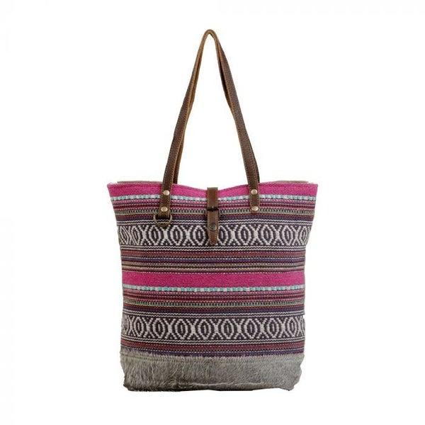 Polychromatic Tote Bag By Myra Bag