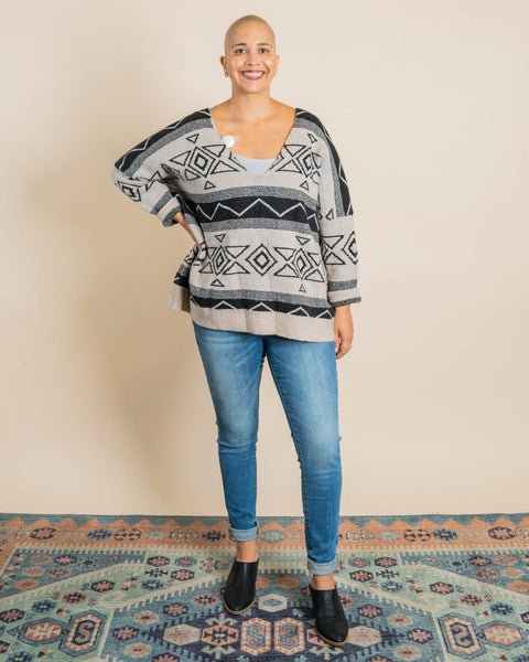 Aztec Sweater By Pol