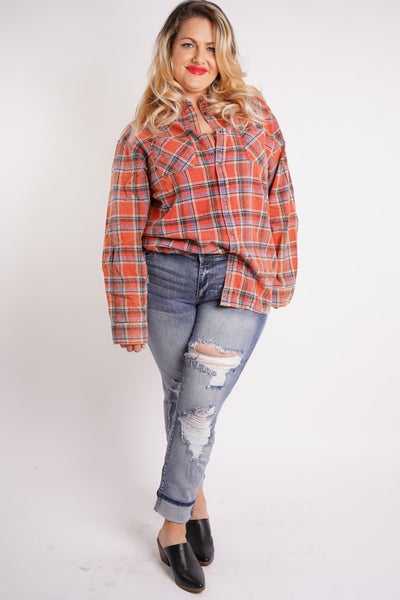 UT Exclusive Forever Flannel, 2 Colors!