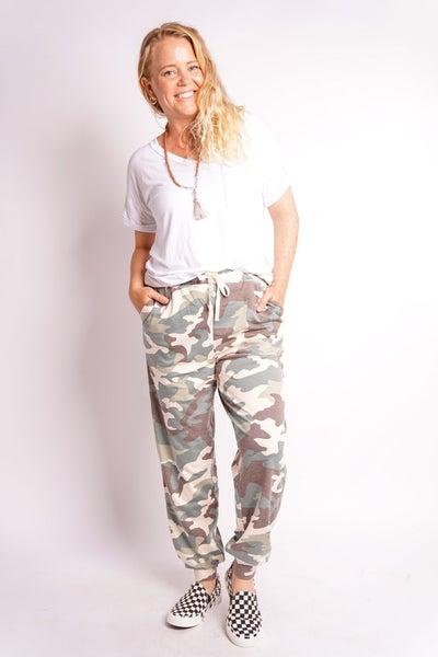 Cool Camo Jogger Lounge Pants, 3 Colors!