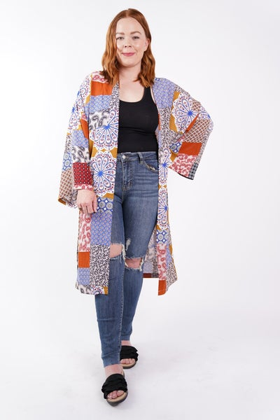All Yours Patchwork Kimono, 3 Colors!