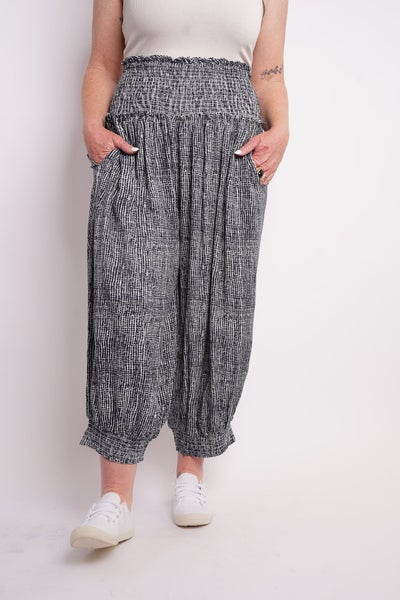 State Of Mind Harem Pants, 2 Colors!