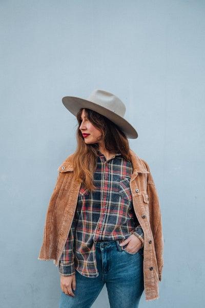 Elton- Wool Felt Rancher Hat