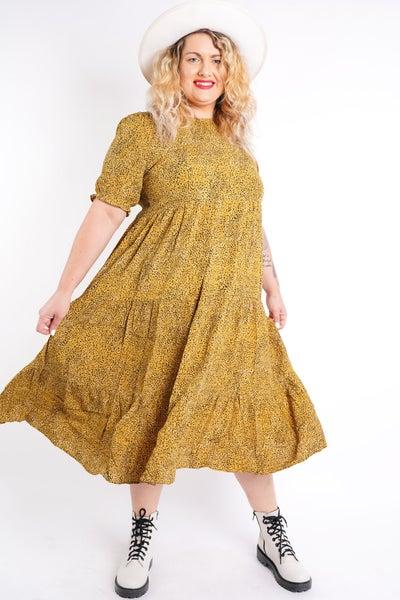 Blossom Midi Dress, 2 Colors!