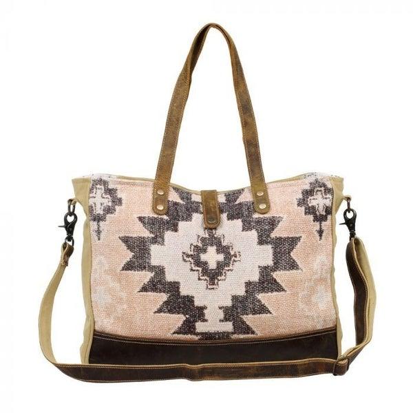 Smartness Overload Weekender Bag  Myra Bag