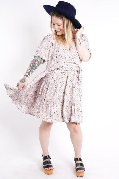 Something Magical Tiered Floral Dress