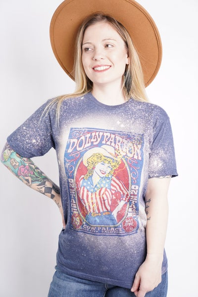 Dolly Parton Graphic Band Tee