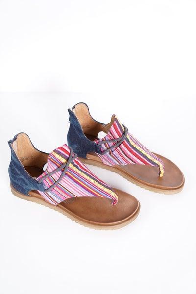 Dakota Canvas Sandal, 2 Colors!