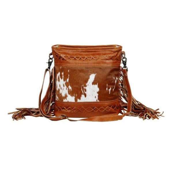 Fashion Creed Leather And Hairon Bag By Myra Bag