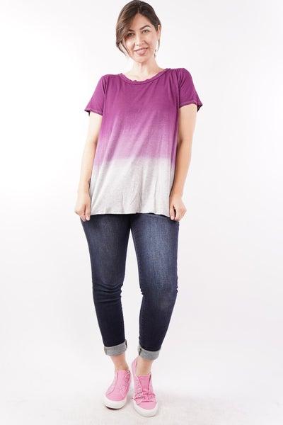 Nightfall Ombre Purple Top