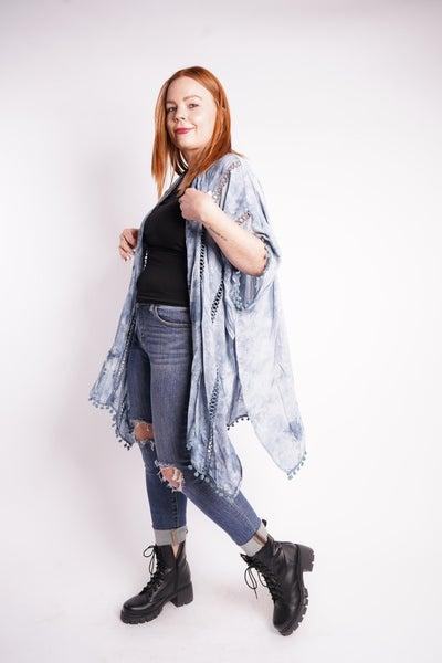 Bella Tie Dye Kimono, 2 Colors!