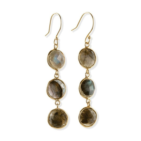 Trio Triumph Drop Earrings