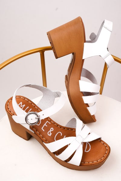 Gin Heeled Sandal By Musse And Cloud