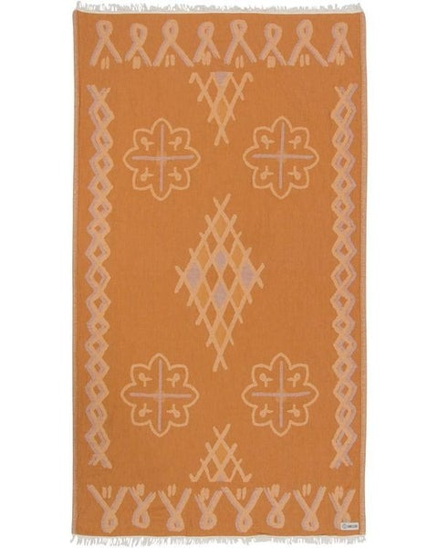 Stamped Moroccan Towel