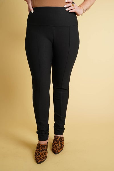 Ease The Day Seam Front Tummy Control Magic Ponte Pants