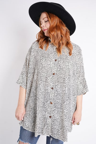 Take It Easy Button Down, 3 Colors!