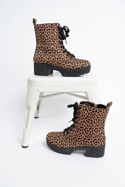 Powerful Lace Up Boot