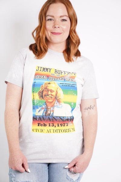 Jimmy Buffett Graphic Band Tee