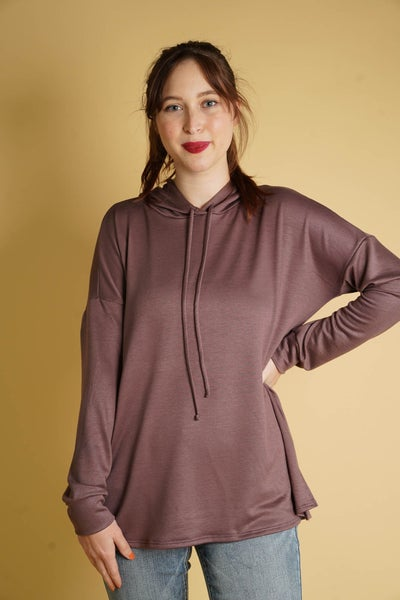 Maisy Hoodie In Chocolate