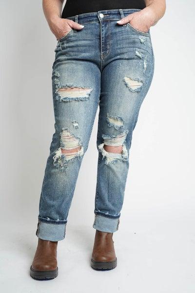 The ASHER Boyfriend Judy Blue Jeans
