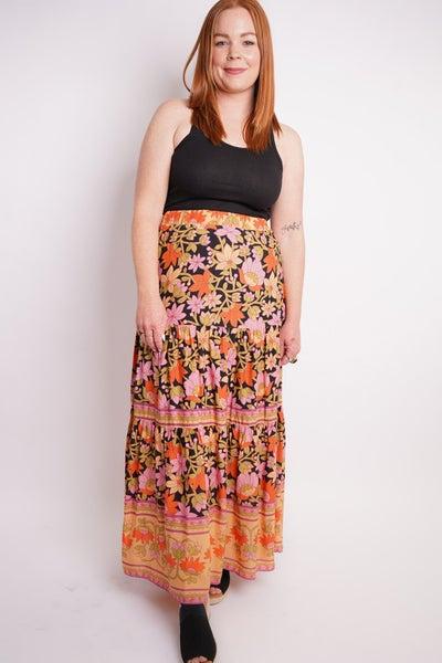 Flower You Feeling Maxi Skirt