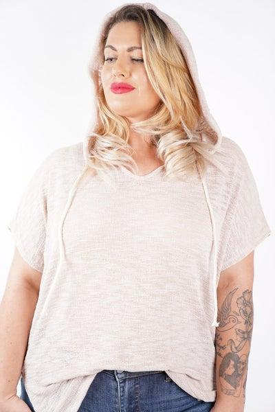 Valerie Hooded Short Sleeve