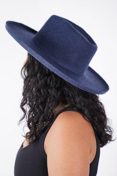 Lenny- Wool Felt Panama Hat - duplicate