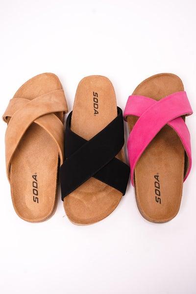 Midge Criss Cross Sandal - 3 Colors!