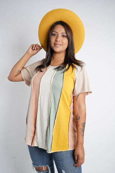 My Stripe Of Way Top, Two Colors Available