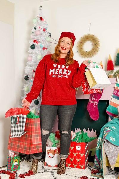 Very Merry Graphic Sweatshirt
