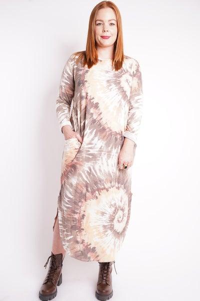In My Element Tie Dye Maxi Dress, 2 Colors!