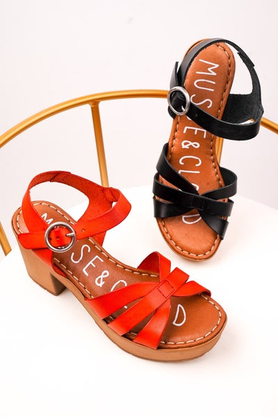 Tonic Heeled Sandals,2 Colors!
