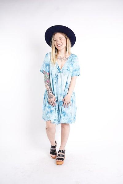 Riley Tie Dye Dress, 3 Colors!